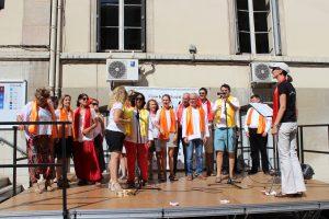 Mini-concert lors du Carrefour des associations de Lyon 6ème édition 2016